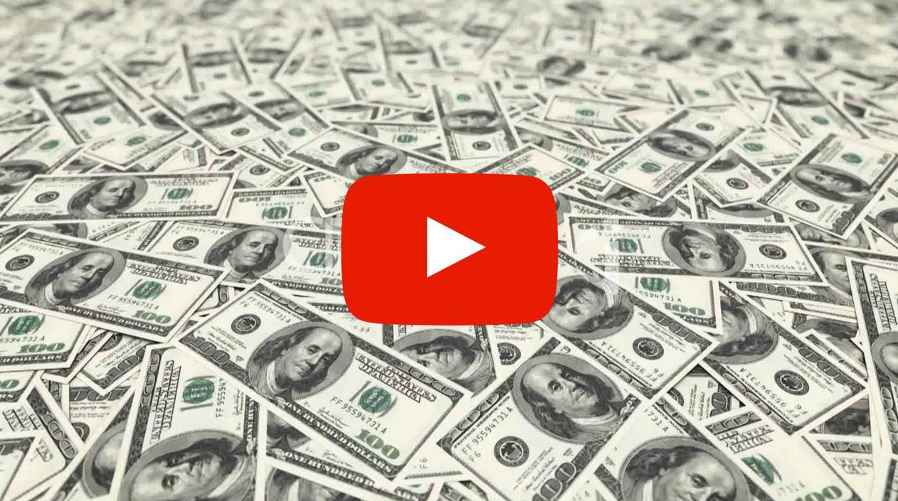 tjänar pengar på Youtube