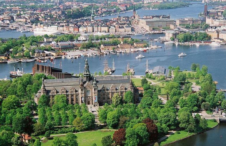 Djurgården plats att springa i stockholm
