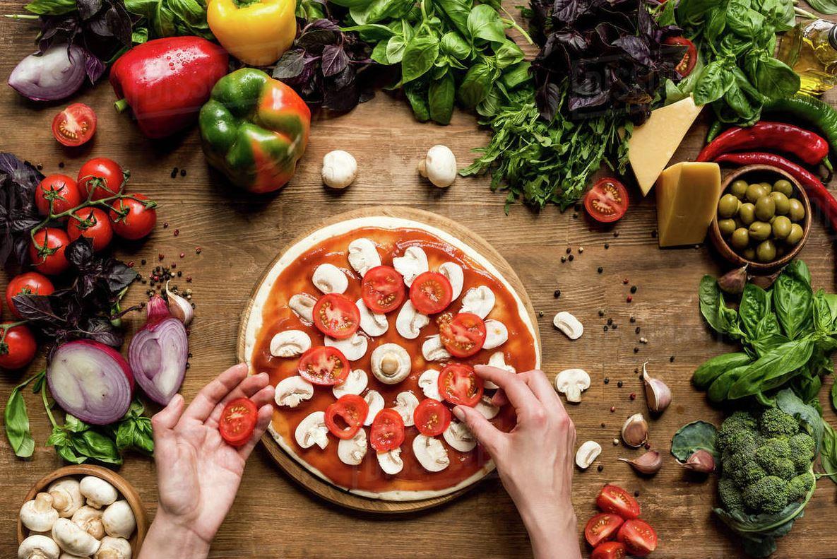 Hur du bakar pizza