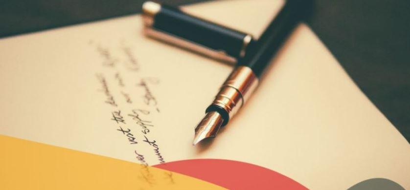 inbjudan brev design