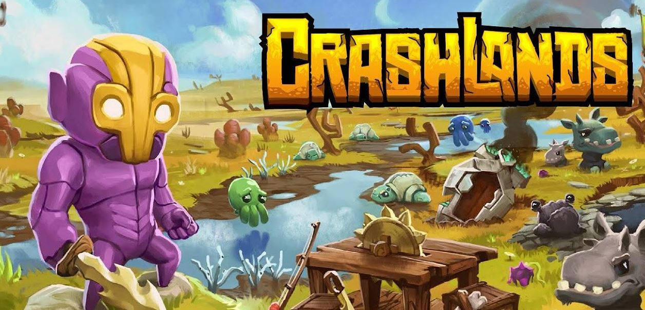 Crash lands iphone-spel