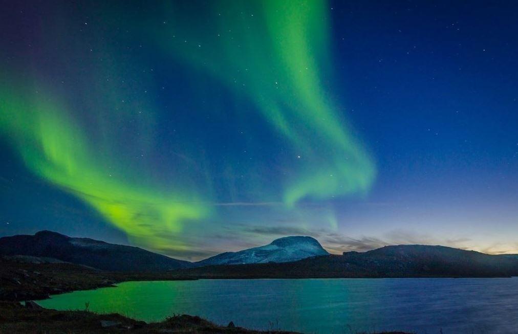 saker att se i sverige norrsken